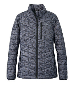 Women's Primaloft Packaway Jacket, Print