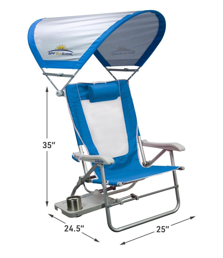 Gci Big Surf Beach Chair With Shade