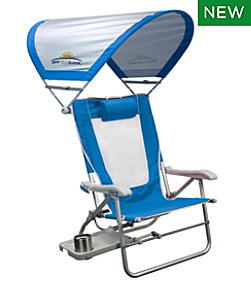 GCI Big Surf Beach Chair With Shade