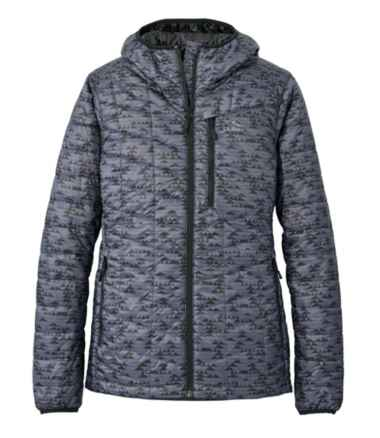 Women's Primaloft Packaway Hooded Jacket, Print
