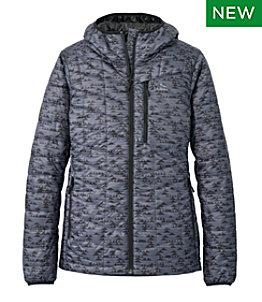 Women's Primaloft Packaway Hooded Jacket, Print