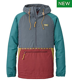 Men's Mountain Classic Insulated Anorak, Multi-Color
