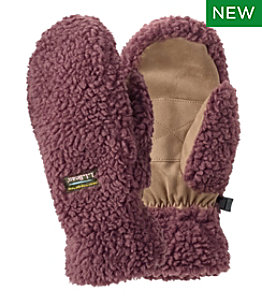 Women's Mountain Pile Fleece Mittens