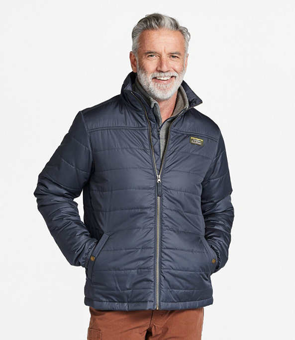 Mountain Classic Puffer Jacket, Black, large image number 1