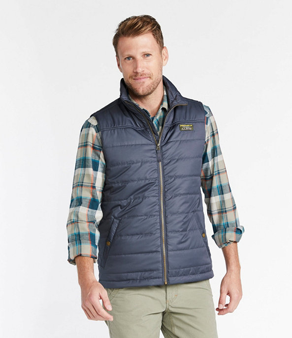 Mountain Classic Puffer Vest, Fatigue Green, large image number 1