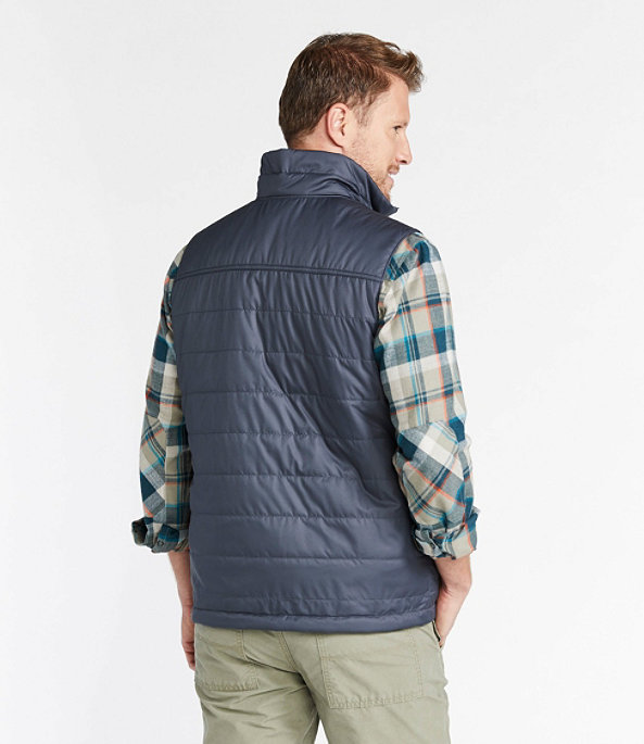 Mountain Classic Puffer Vest, Fatigue Green, large image number 2