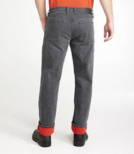 Men's BeanFlex Jeans, Standard Fit, Fleece-Lined