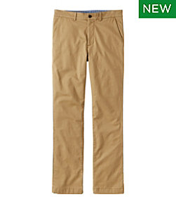 Men's Lakewashed Stretch Khakis, Standard Fit, Flannel-Lined
