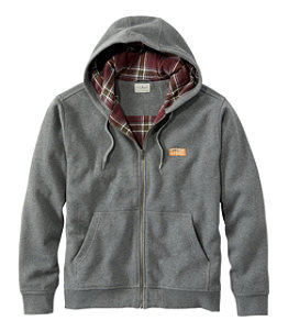 Men's Katahdin Iron Works Hooded Sweatshirt, Flannel-Lined