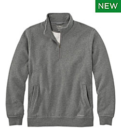 Men's Athletic Sweats, Quarter-Zip Pullover