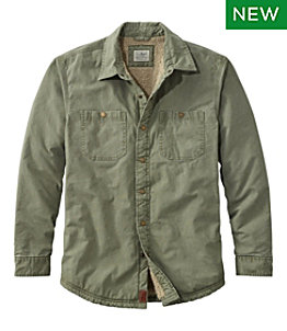 Men's 1912 Heritage Lined Shirt Jac, Canvas