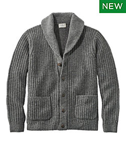 Men's L.L.Bean Classic Ragg Wool Sweaters, Cardigan