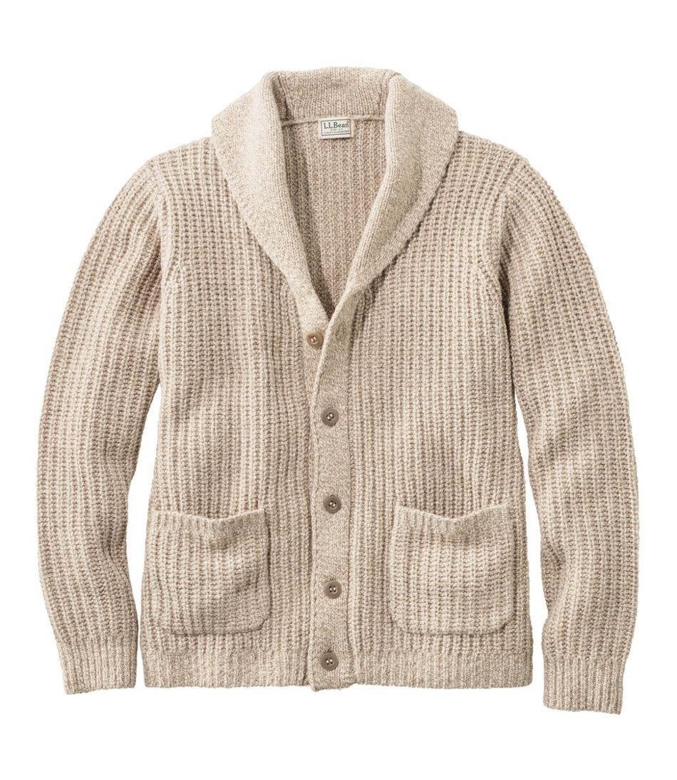 Men's L.L.Bean Classic Ragg Wool Sweaters, Cardigan