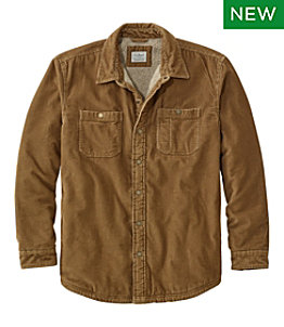 Men's 1912 Heritage Lined Shirt Jac, Corduroy