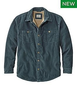 Men's 1912 Heritage Lined Shirt Jac, Corduroy
