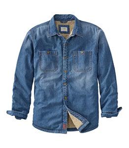 Men's 1912 Heritage Lined Shirt Jac, Denim