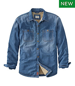 Men's 1912 Heritage Lined Shirt Jac, Denim