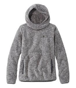 Women's L.L.Bean Hi-Pile Hooded Pullover