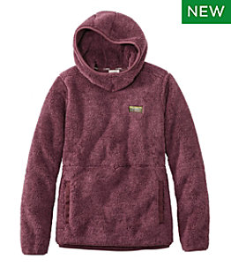 Women's L.L.Bean Hi-Pile Hooded Pullover