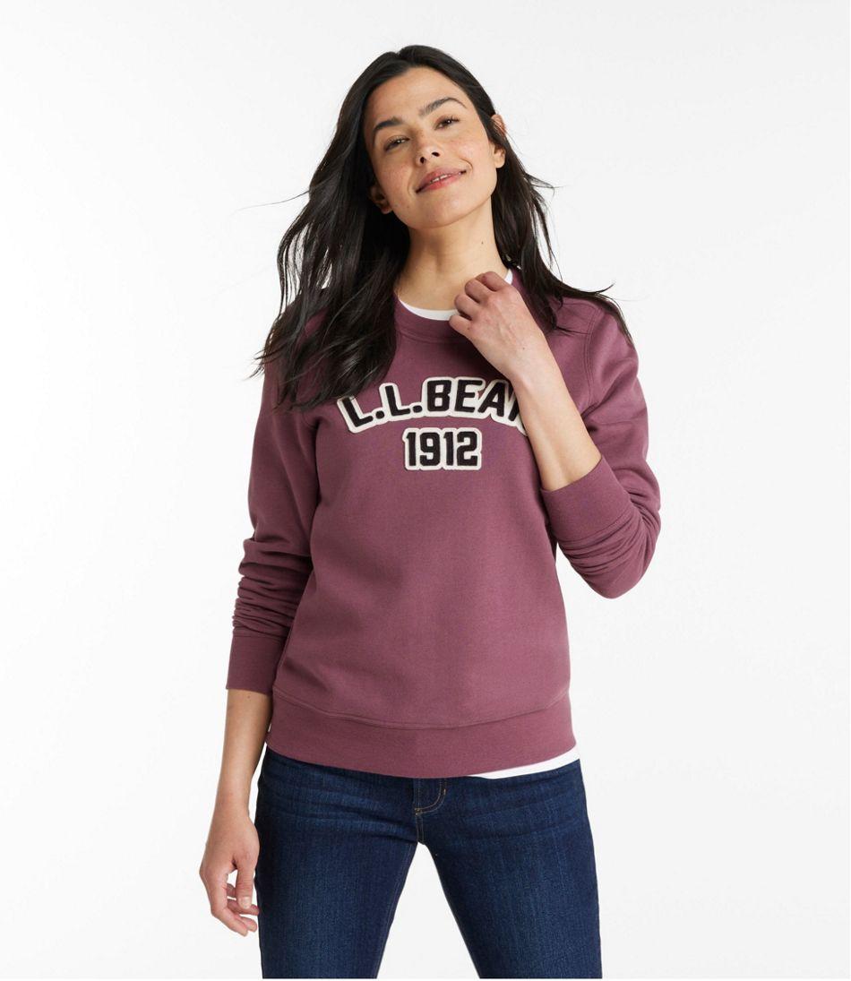 Women's L.L.Bean 1912 Sweatshirt, Crewneck Logo