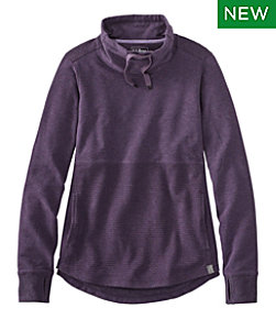 Women's L.L.Bean Cozy Mixed Knits Pullover