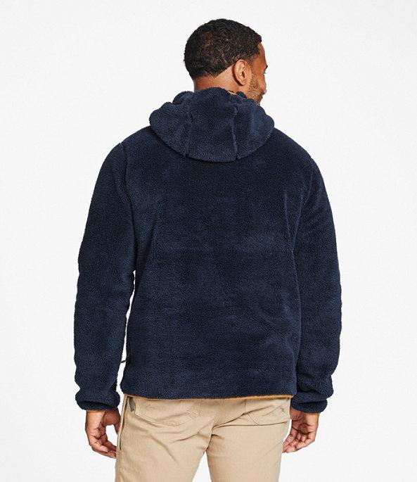 L.L.Bean Hi-Pile Fleece Hooded Pullover, , large image number 2