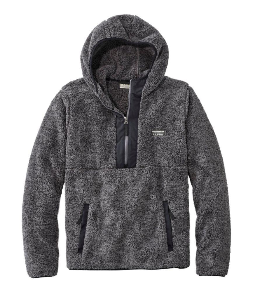 Hi-Pile Fleece Hooded Pullover