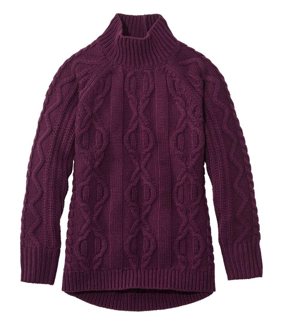Women's Cozy Fisherman Sweater, Pullover