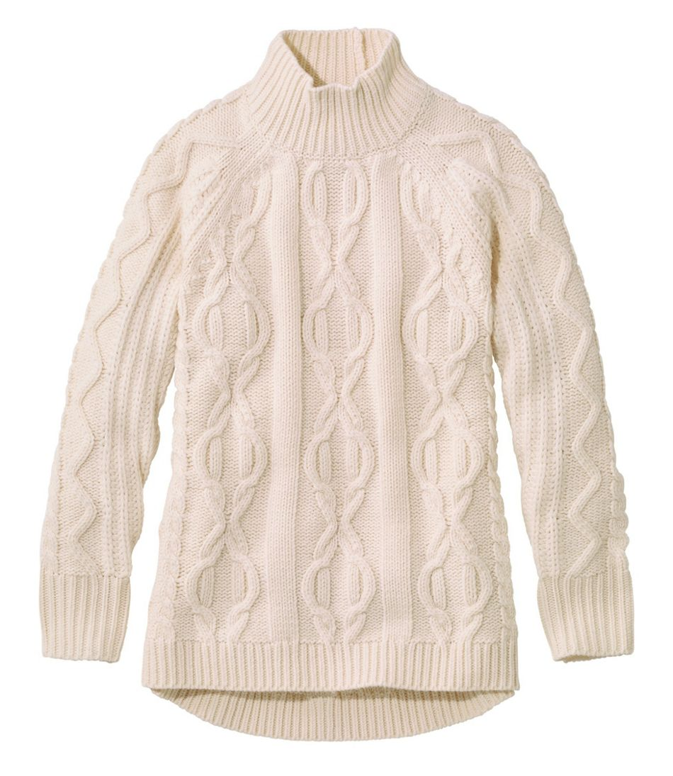 Women's Cozy Fisherman Sweater, Pullover