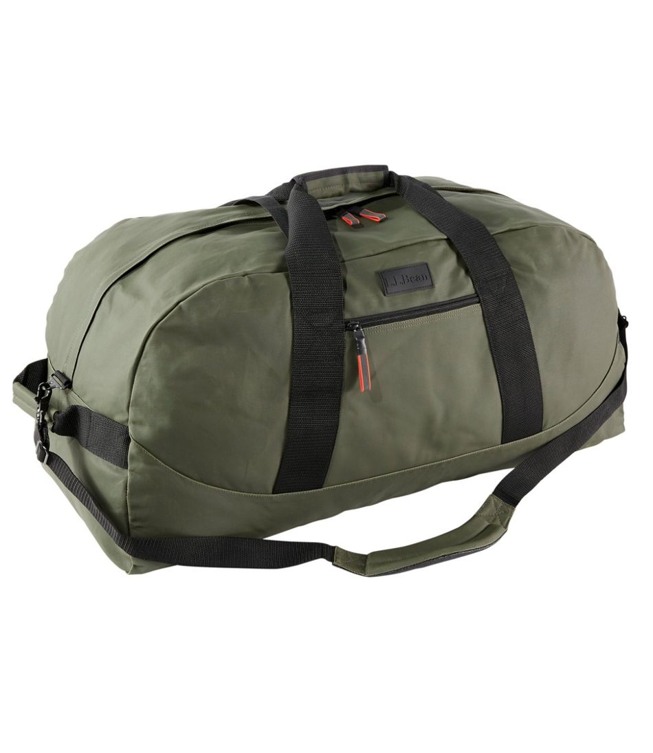 Adventure Duffle, Coated Cotton, Large