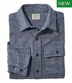 Men's Chamois Shirt, Traditional Fit, Stripe