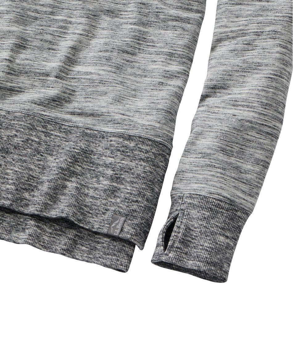 Women's L.L.Bean Cozy Sweatshirt, Split-Hem Marled