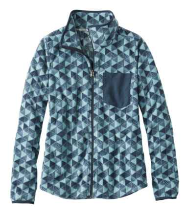 Women's Trail Fleece Full-Zip Jacket, Print