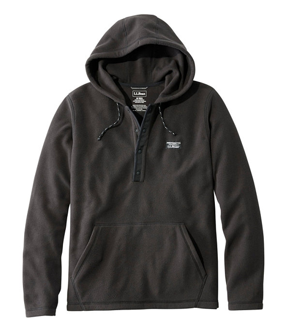 Trail Fleece Hooded Pullover, Classic Black, large image number 0