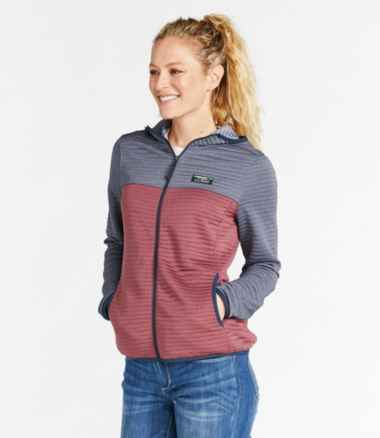 Women's Airlight Knit Full-Zip Hoodie, Colorblock
