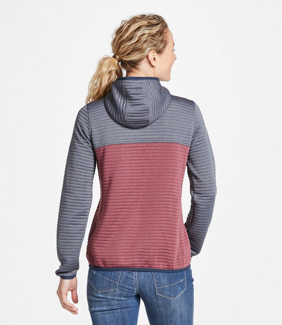 Women's AirLight Knit Full-Zip Hoodie, Colorblock