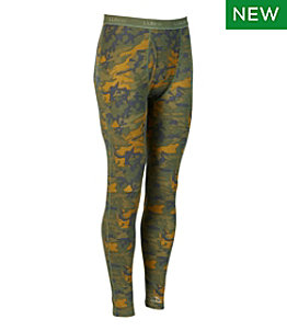 Men's Cresta Wool Midweight Base Layer Pant, Camouflage