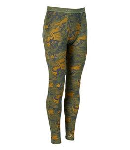 Men's Cresta Wool Midweight Base Layer Pant, Camouflage