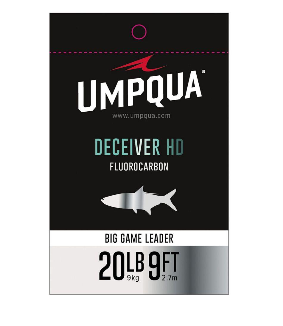 Umpqua Deceiver HD Big Game Fluorocarbon Leader, 9'