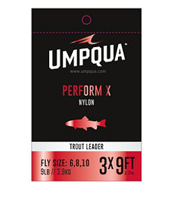 mpqua Perform X Trout Leader, 7.5'