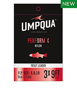 mpqua Perform X Trout Leader, 7.5' 3-Pack