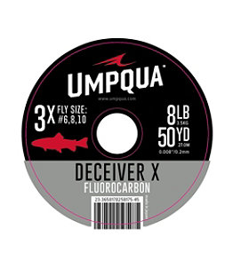 Umpqua Deceiver X Fluorocarbon Tippet, 50 Yards