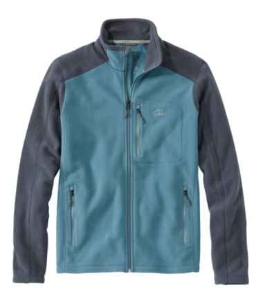 Men's Trail Fleece, Full-Zip Colorblock