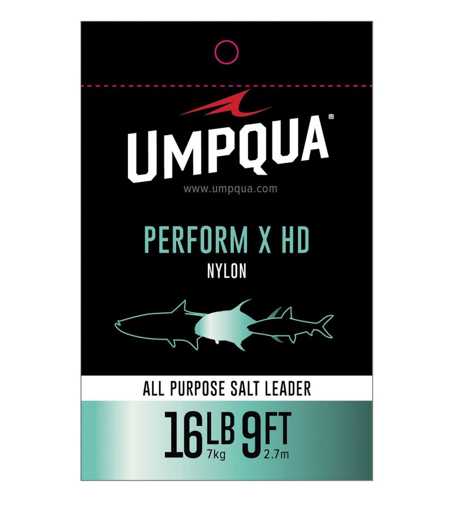Umpqua Perform X HD All-Purpose Saltwater Leader, 9'