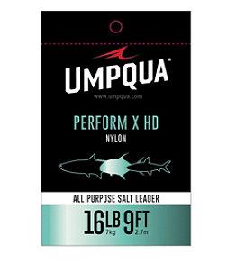 Umpqua Perform X HD All-Purpose Saltwater Leader, 9'