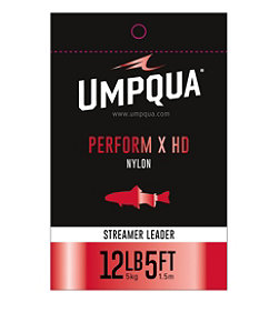 Umpqua Perform X HD Streamer Leader 5'