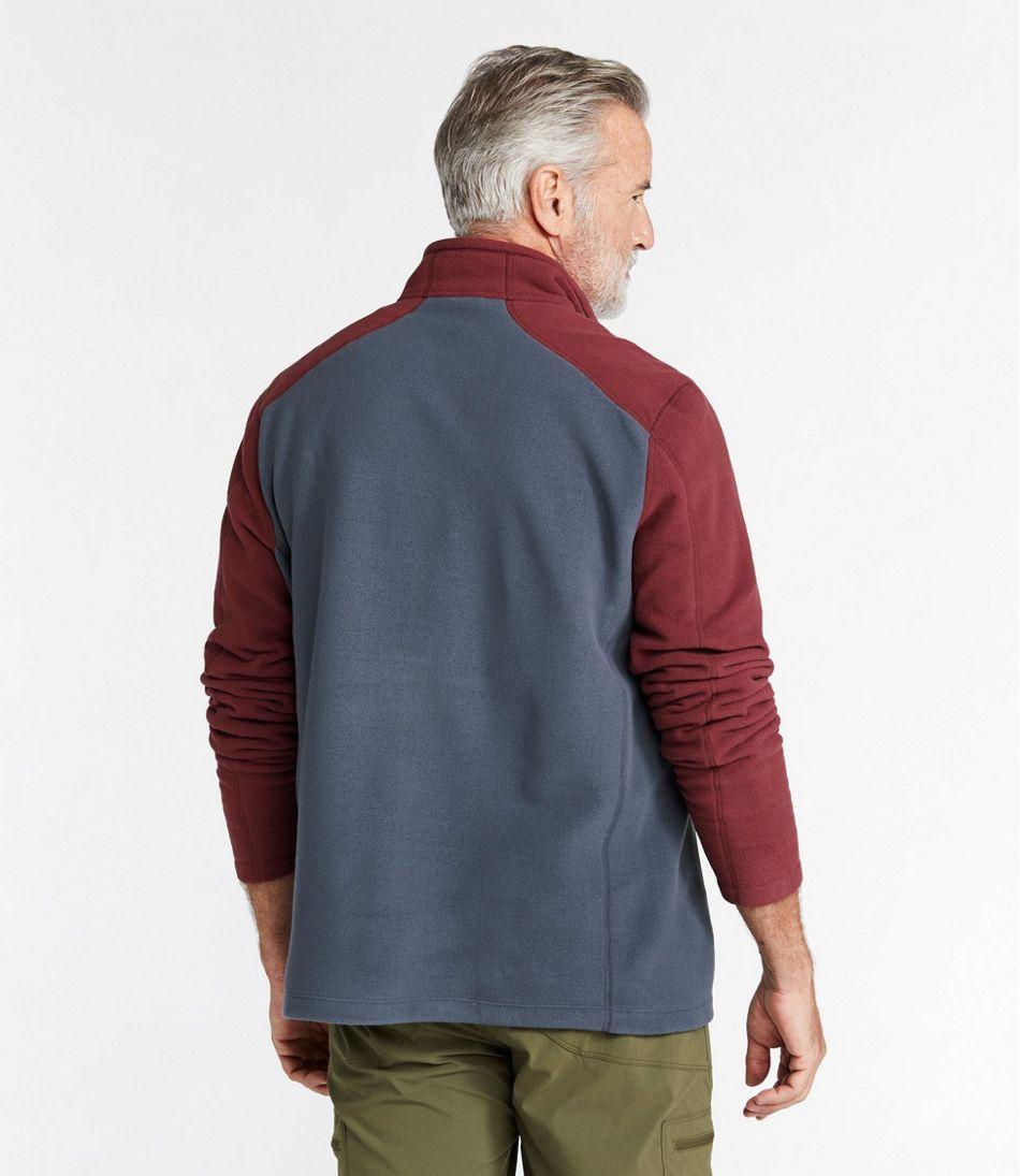 Men's Trail Fleece, Quarter-Zip Colorblock