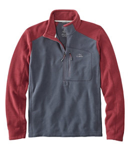 Men's Trail Fleece, Quarter-Zip Colorblock