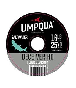 Umpqua Deceiver HD Big Game Fluorocarbon Tippet, 25 yds.