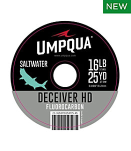 Umpqua Deceiver HD Big Game Fluorocarbon Tippet, 25 yds.